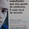 PATRÃO ADORA TRABALHADOR NÃO SINDICALIZADO